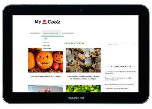 My Cook - dieta paleo menu screenshot 1