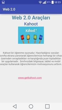 Web 2.0 Araçları apk screenshot