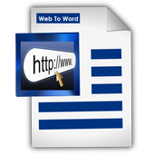 Web page To Word Converter icon