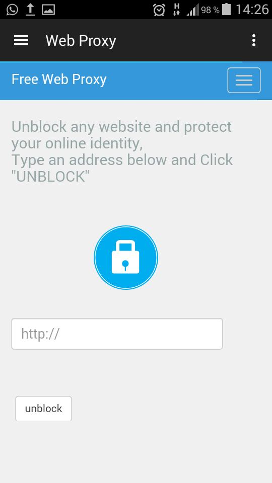 Web Proxy for Android - APK Download