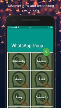 Groups Link For WhatsApp - Globally poster