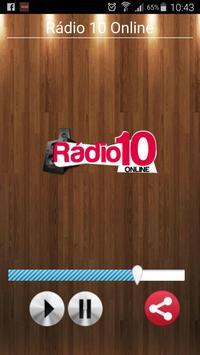 Rádio 10 Online poster