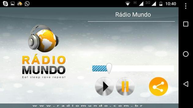 Rádio Mundo screenshot 4