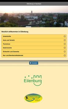 Besucher-App Eilenburg apk screenshot