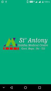 St Antony Siddha poster
