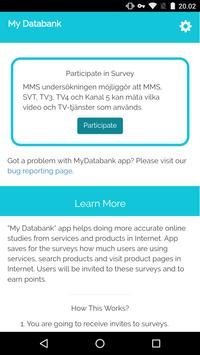 My Databank screenshot 2