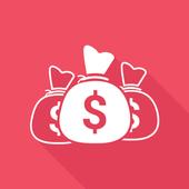 Pockiecash-Paytm,Paypal Cash icon