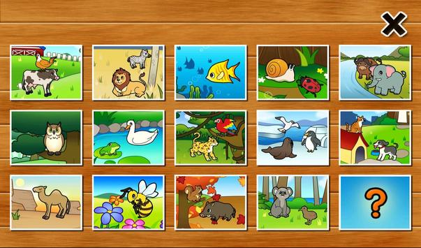 Animal Puzzle for Toddlers poster