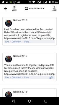 NSICON 2015 screenshot 3