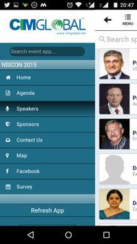 NSICON 2015 screenshot 4