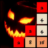 Spooky 2048 - Scary Power of 2 icon