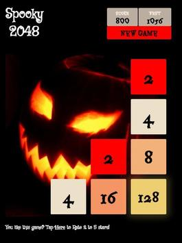 Spooky 2048 - Scary Power of 2 poster