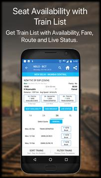 Live Train IRCTC PNR Status & Indian Rail Info apk screenshot
