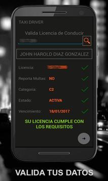 TDRIVER, QAPP  Conductor Bogota screenshot 6