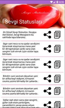 Watsap və Facebok üçün Stasuslar screenshot 3
