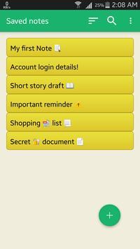 Private Notebook screenshot 2