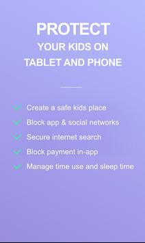 LIMIT - Parental control kids poster