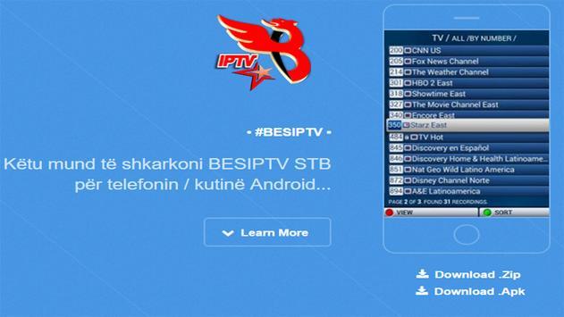 BES-IPTV STB 1.3 screenshot 1