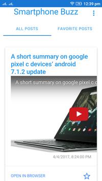 Smartphone Buzz - Stay Updated apk screenshot