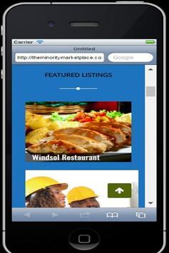 The Minority Marketplace apk screenshot