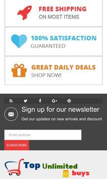 Top Unlimited Buys screenshot 3