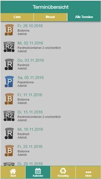 Aichach-Friedberg Abfall-App screenshot 3