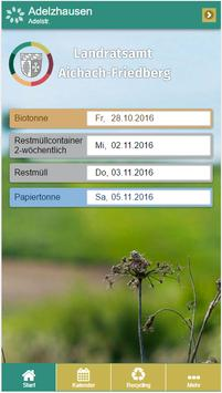 Aichach-Friedberg Abfall-App poster