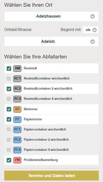 Aichach-Friedberg Abfall-App screenshot 1