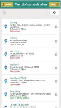 Aichach-Friedberg Abfall-App screenshot 5