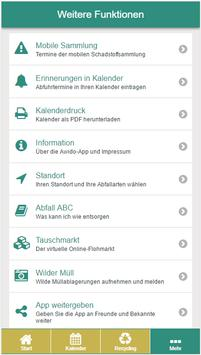 Aichach-Friedberg Abfall-App screenshot 6