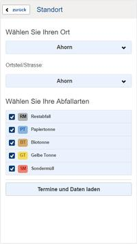 Landkreis Coburg Abfall-App screenshot 1