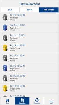 Landkreis Coburg Abfall-App screenshot 3