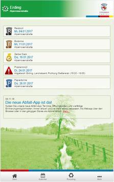 Landratsamt Erding Abfall-App poster