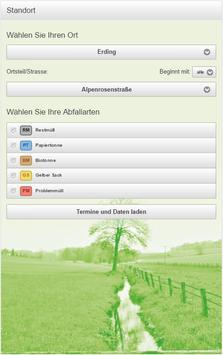 Landratsamt Erding Abfall-App screenshot 1