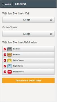 Günzburger Abfallapp apk screenshot