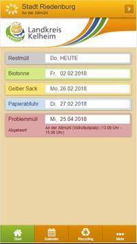 Landkreis Kelheim Abfall-App poster