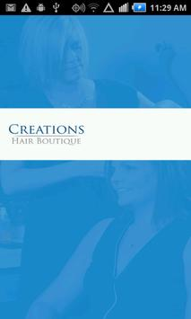 Creations Hair Boutique poster