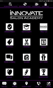 Innovate Salon Academy screenshot 2