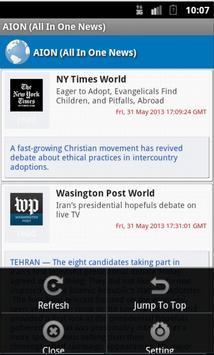 AION | All In One News - Lite screenshot 1