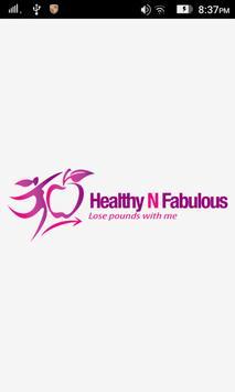 Healthy N Fabulous poster