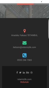 İs Temizlik apk screenshot