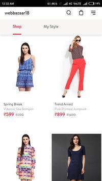 Webbazaar18 Online Shopping App screenshot 4