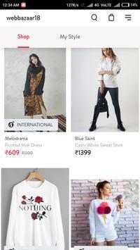 Webbazaar18 Online Shopping App screenshot 5