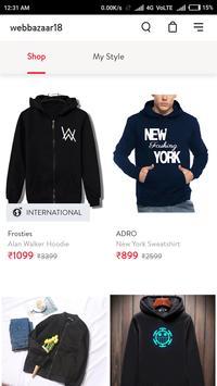 Webbazaar18 Online Shopping App screenshot 6