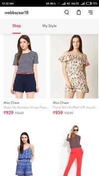 Webbazaar18 Online Shopping App screenshot 7
