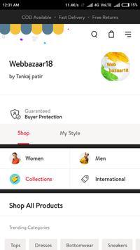 Webbazaar18 Online Shopping App screenshot 1