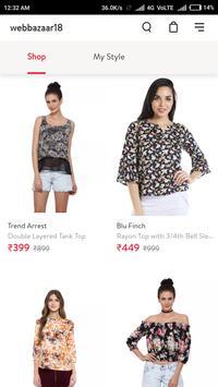 Webbazaar18 Online Shopping App screenshot 3