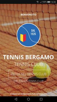 Tennis Club Bergamo poster