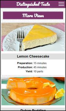 Distinguished Taste Recipes poster