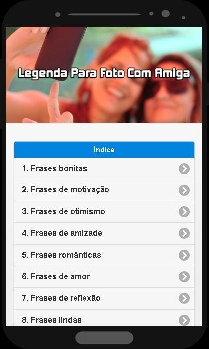 Legenda Para Foto Com Amiga For Android Apk Download